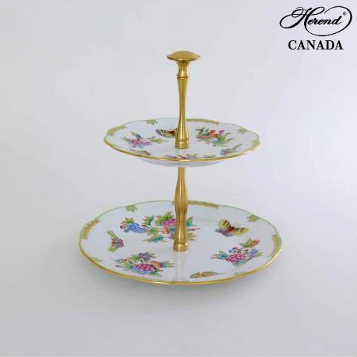2 Tier Fruit Stand - Queen Victoria