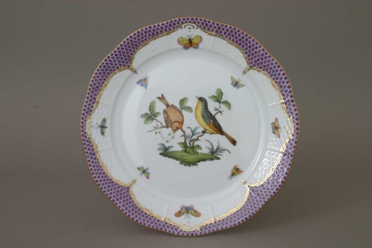 Salad Plate - Rothschild Bird Butterscotch