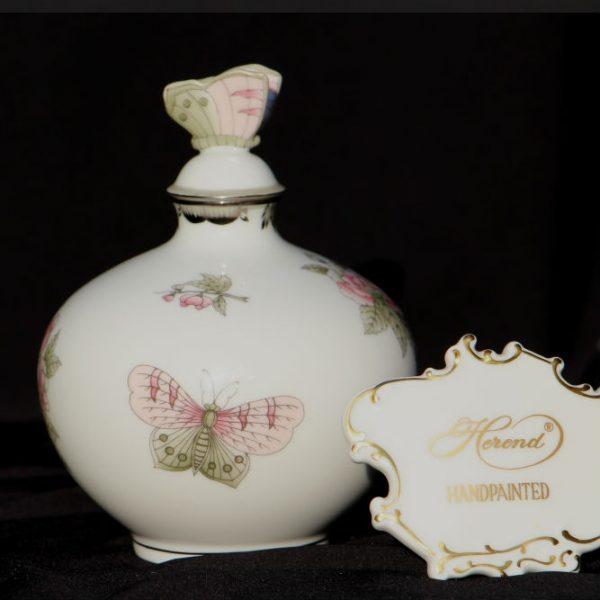 Campanule - Perfume Bottle, butterfly knob