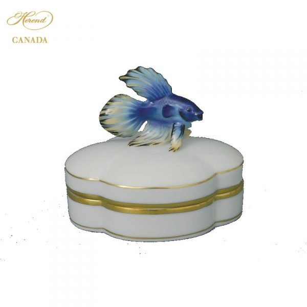 Fancy Box, Fish Knob - Assorted Decors