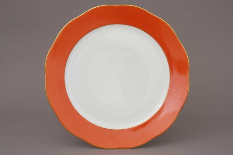 Charger Plate - Pumpkin Rust