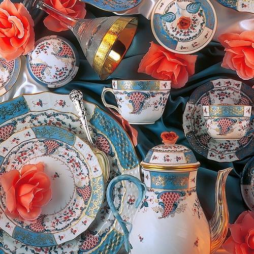Tupini (TCA) Tea Set for 2