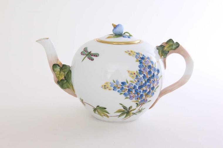 Teapot, cranberry knob - Amazonie