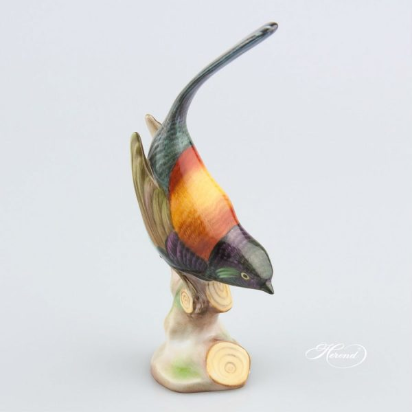 Pied Wagtail - Herend Animal Figurine