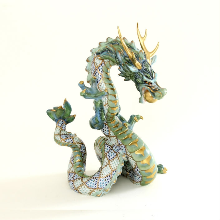 Large Green Dragon - Limited Edition: 100 pcs.