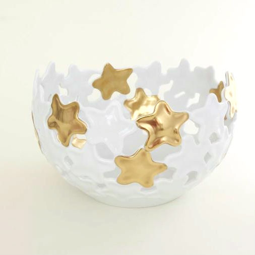 Gold Star Hoya Vase