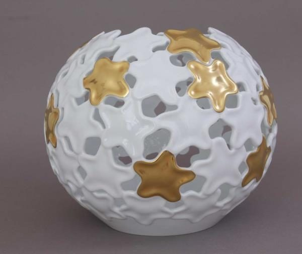 Gold Star Large Hoya Vase