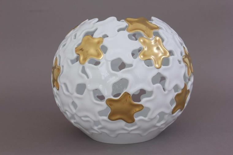 Gold Star Large Hoya Vase