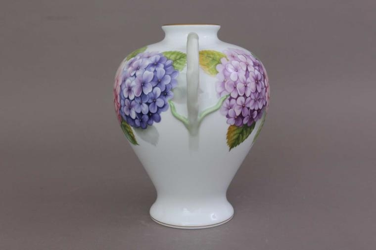 ROSE VASE WITH TWIG HANDLE