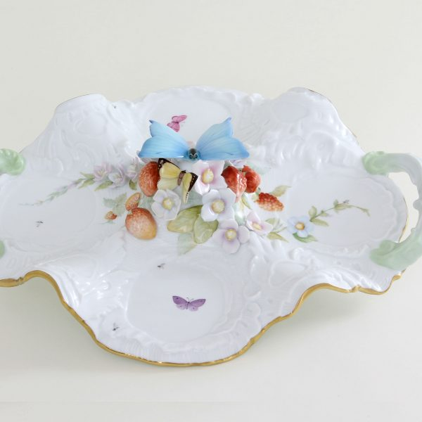 Fancy Dish with Butterfly