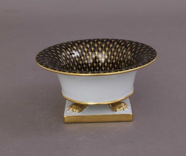 Vase empire, large - Black & Gold