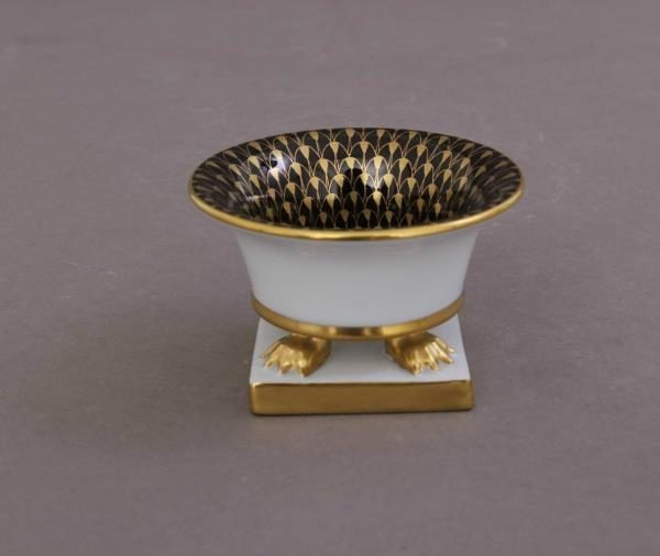 Vase, empire - Fishnet Black & Gold