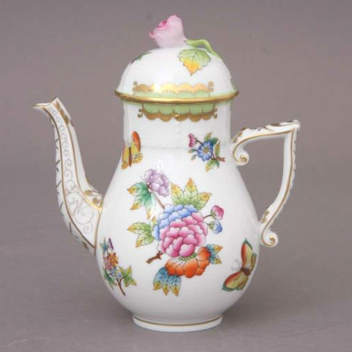 Coffee Pot, bird knob -Foret Bird