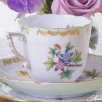 Coffee Cup and Saucer - Queen Victoria