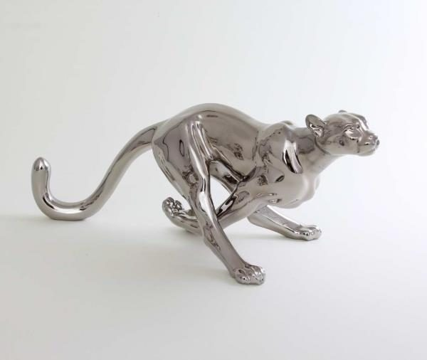 Cheetah, big - Platinum animal figurine