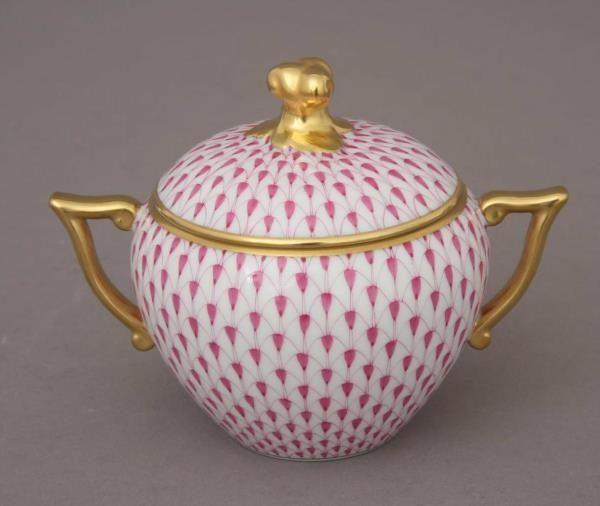Fishnet Pink - Sugar, twisted knob