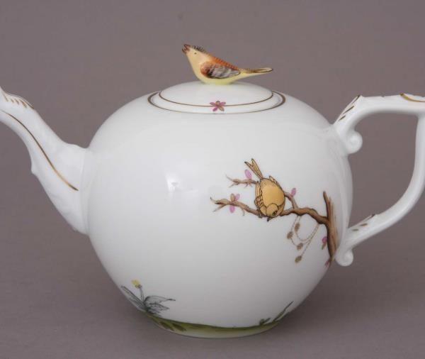 Teapot, bird knob - Foret Bird