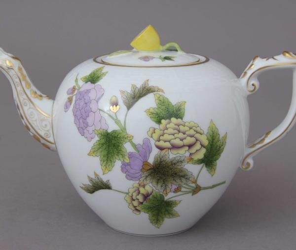 Teapot, bird knob - REJAR