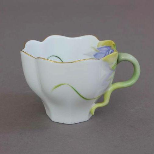 Fortuna Dahlia Pink - Teacup and Saucer