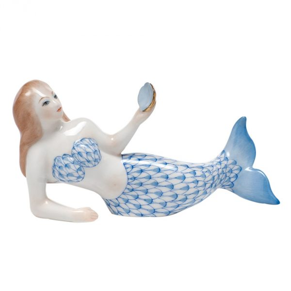 Herend / The Little Mermaid Figurine - Fishnet Colors