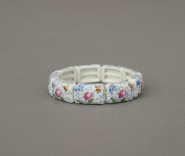 Herend Masterpiece Flower Bracelet (9 links)