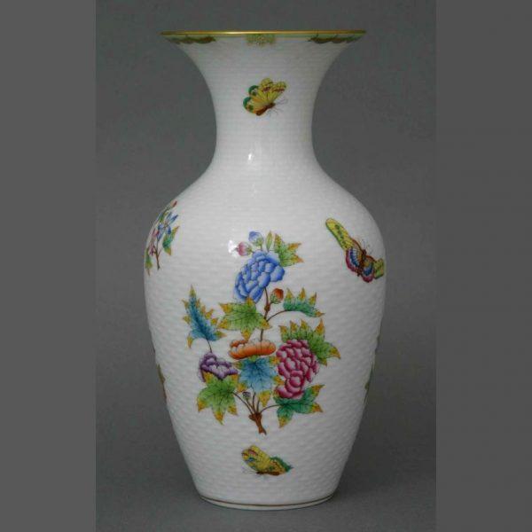Herend Vase Queen Vicytoria Yellow