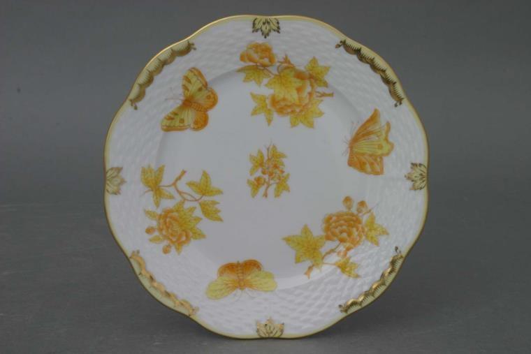 Herend - Vase - Queen Vicytoria Yellow