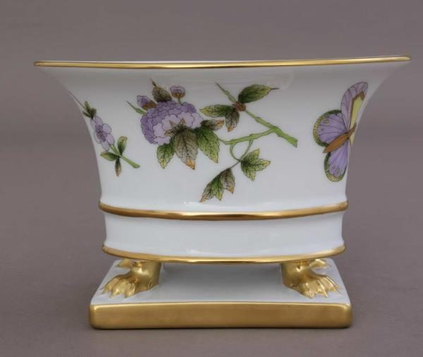 Victoria Yellow - Oval vase, empire