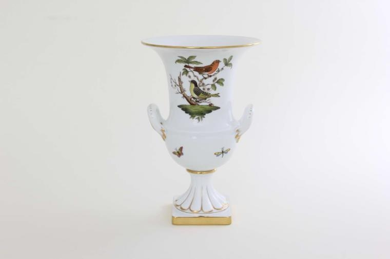 Vase, empire on base - Rothschild Bird