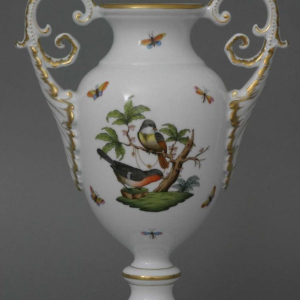 Rothschild Bird - Vase with acanthus knob