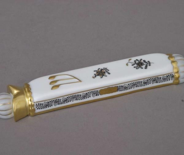 Mezuzah - Chinese Bouquet Black