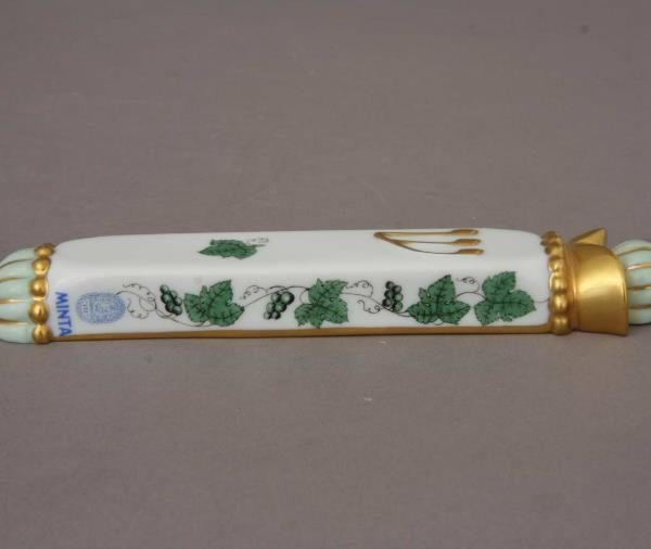 Mezuzah - Grape Leaves Green