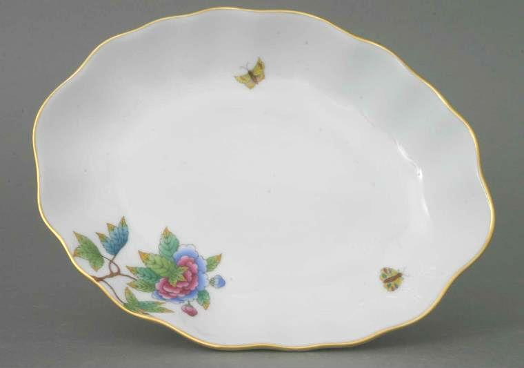 Small Oval dish - Oriental Showmen
