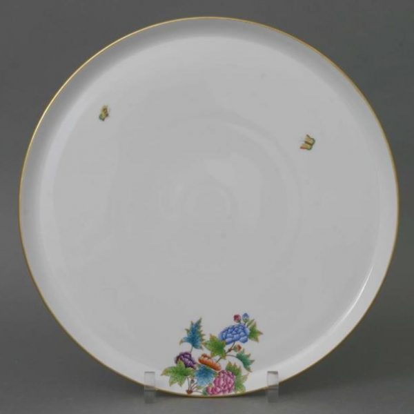Herend Round Tray Petite Victoria 02439-0-00 PV