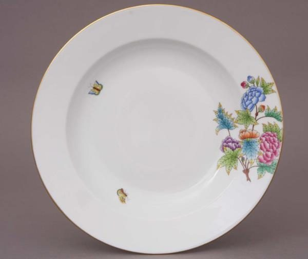 Herend Soup Plate - Petite Victoria