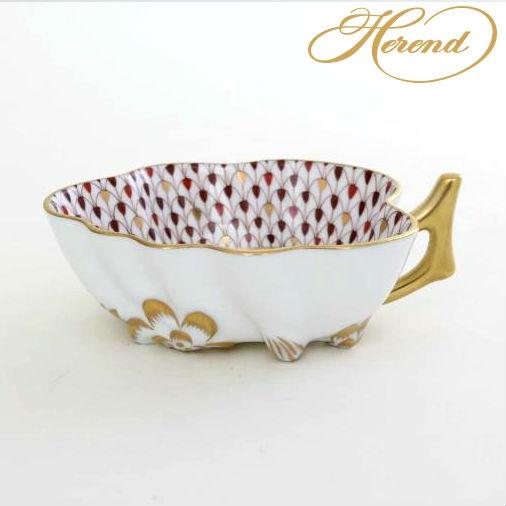 Sugar Bowl (Leaf shaped) - Fishnet Reserved Collection
