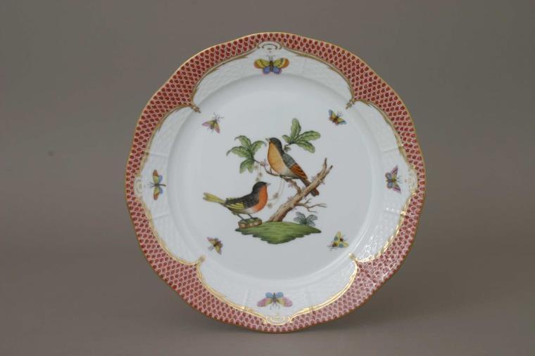 Salad Plate - Rothschild Bird Levander