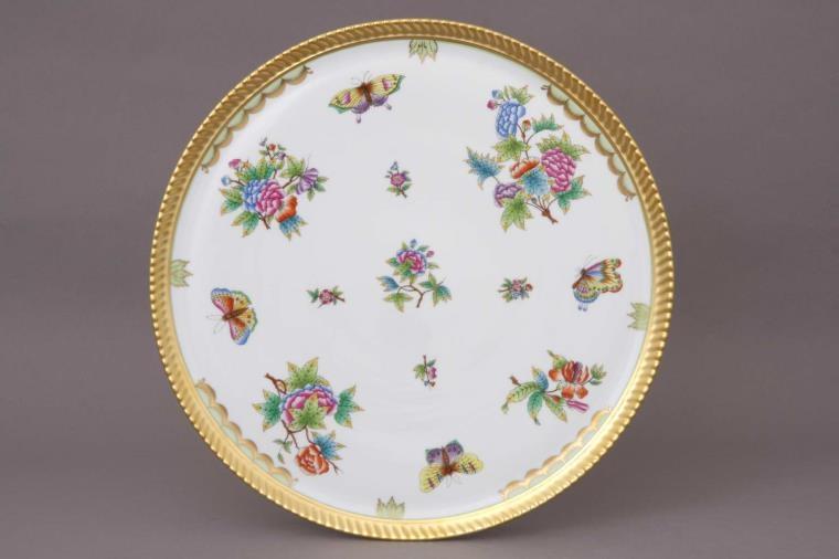 Herend Queen Victoria - Platter Open Work