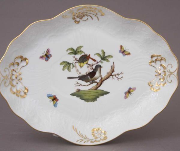 Baroque Dish - Rothschild Bird