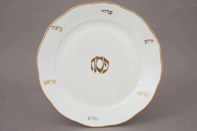 Dinner Plate - Passover