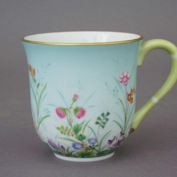 Milk Mug - Bamboo and Butterfly