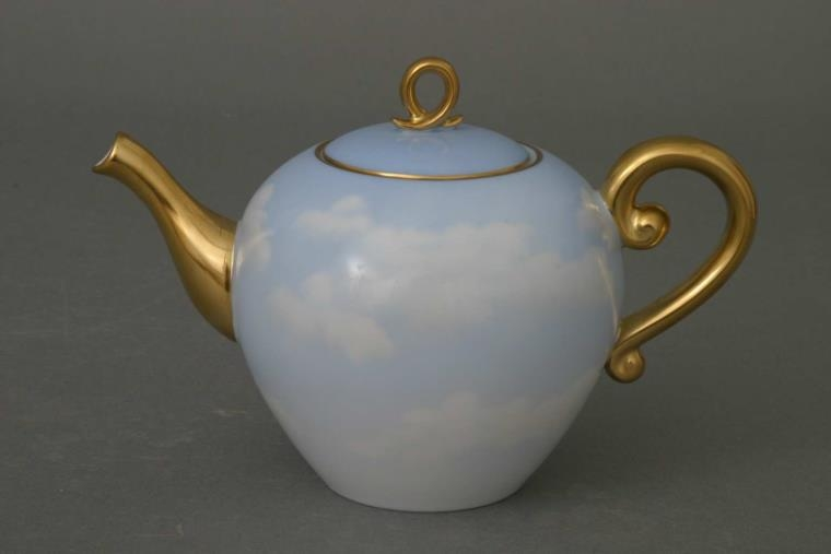 Teapot, loop knob (500 ml) - Cloud Collection
