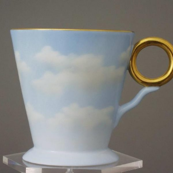 Espresso Cup and Saucer - Cloud Collection