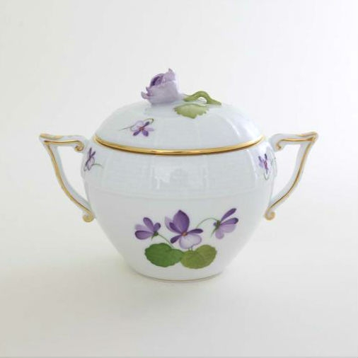 Teapot, Rose Knob - Sissi Anniversary 1