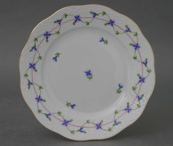 Herend Petite Blue Garland Salad Plate Order Online