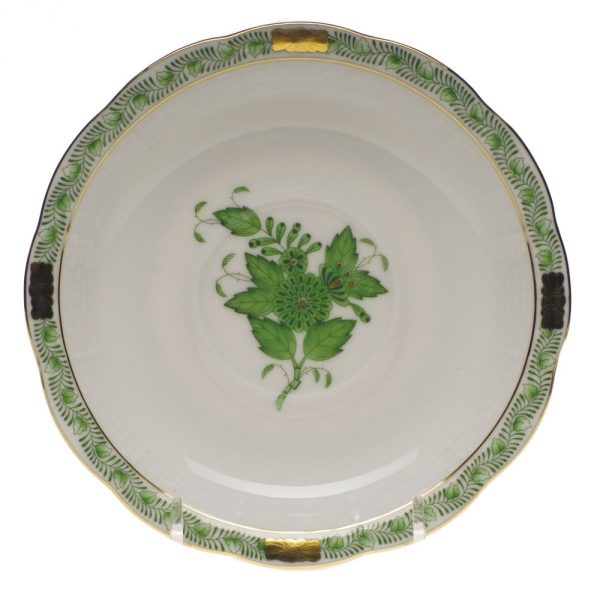 Herend Teacup and Saucer - Chinese Bouquet Green