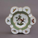 Ashtray - Rothschild Bird Fishnet Green