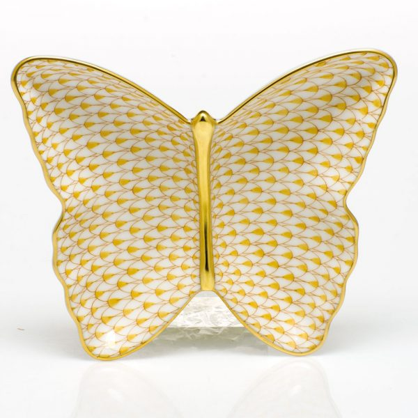 Butterfly Dish - Full Fishnet Pink