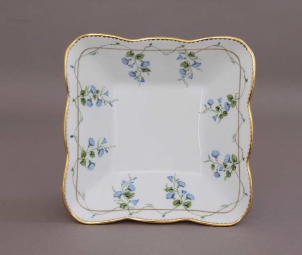 Square Dish - Herend Morning Glory