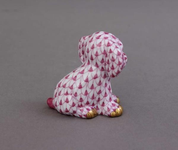 St  Bernard dog - FIshnet Pink